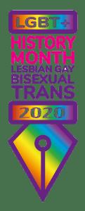 LGBT History Month 2020 logo